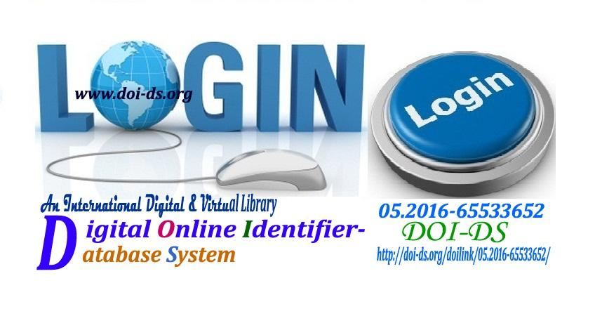 LOG IN TO DOI & CREATE DOI NO.